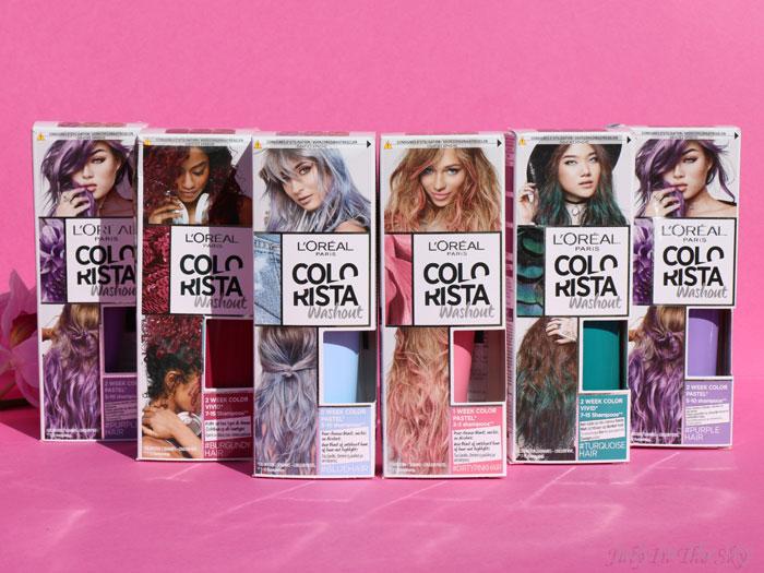 blog beauté colorista L'Oréal washout burgundyhair