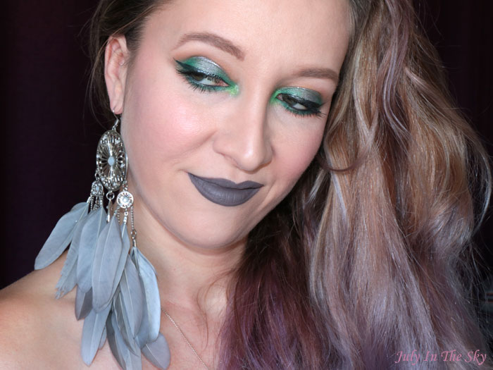 blog beauté tutoriel maquillage Monday Shadow Challenge gris émeraude