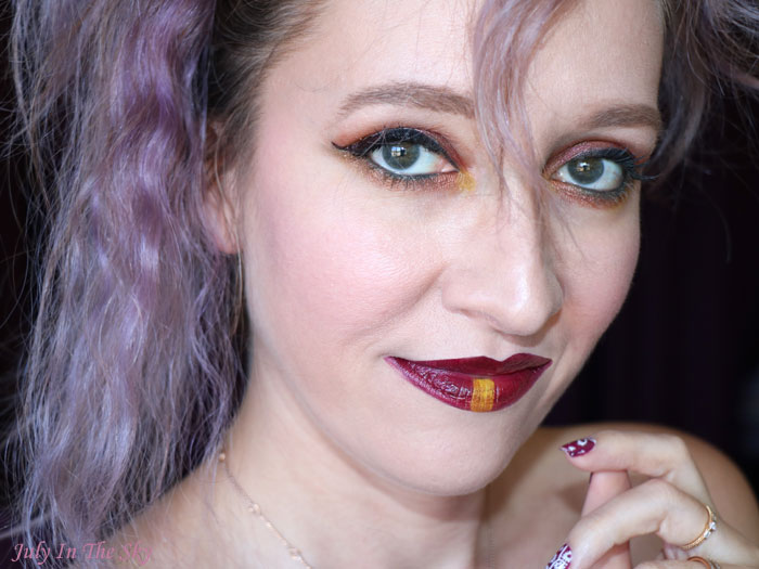 blog beauté tutoriel maquillage Monday Shadow Challenge Jaune Marsala