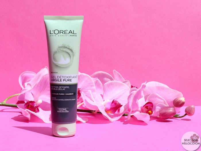 Le Gel Détoxifiant Argile Pure de L'Oréal, mon avis