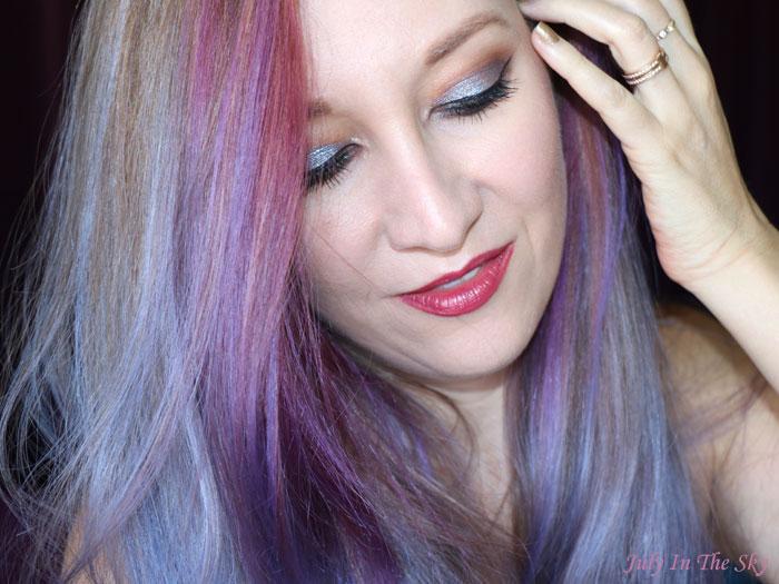 blog beauté tutoriel monday shadow challenge chataigne lilas