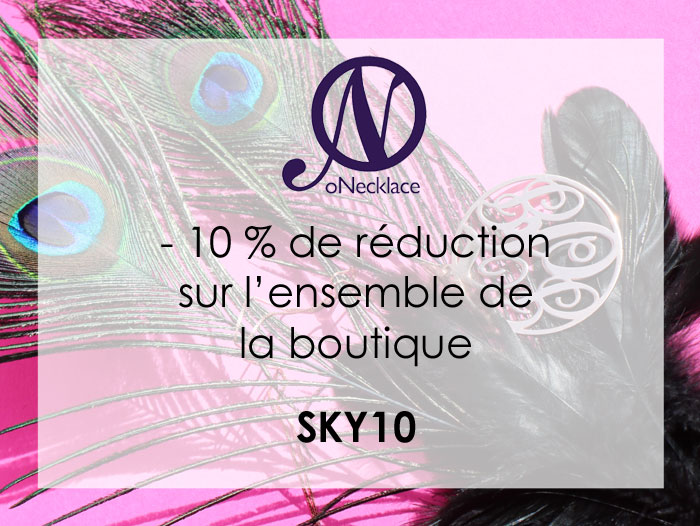 Code de réduction : O'Necklace