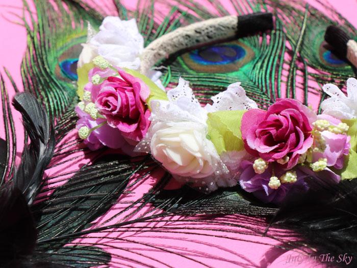 Ma couronne de fleurs signée Accessoires Cheveux Chics