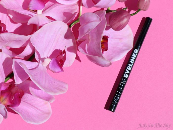 blog beauté You Are Cosmetics avis test cruelty-free maquillage vegan eyeliner feutre noir