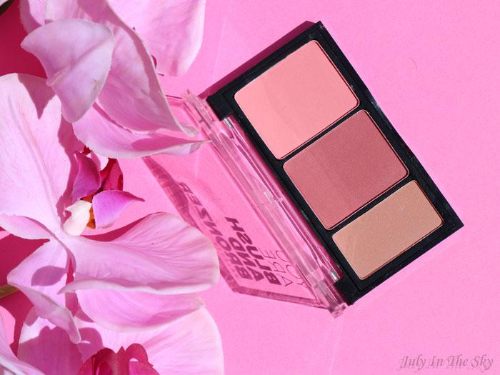 blog beauté You Are Cosmetics avis test cruelty-free maquillage vegan palette blush et bronzer sissoo