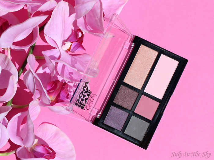 blog beauté You Are Cosmetics avis test cruelty-free maquillage vegan palette d'ombres à paupières colorées Lilas