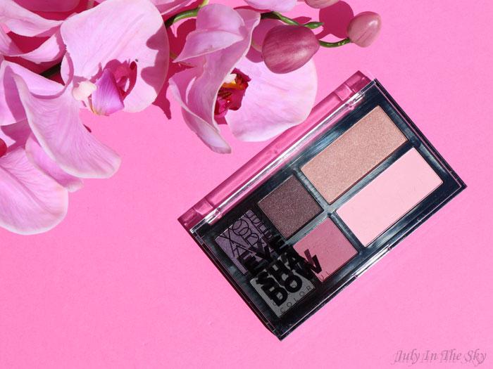 blog beauté You Are Cosmetics avis test cruelty-free maquillage vegan palette d'ombres à paupières colorées Lilas