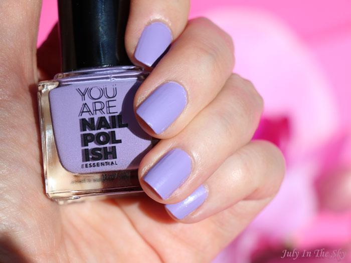 blog beauté You Are Cosmetics avis test cruelty-free maquillage vegan vernis à ongles Violine