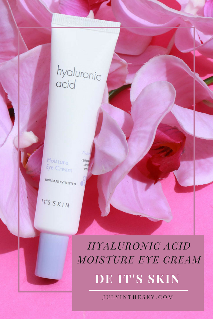 blog beauté kbeauty Hyaluronic Acid Moisture Eye Cream It's Skin avis