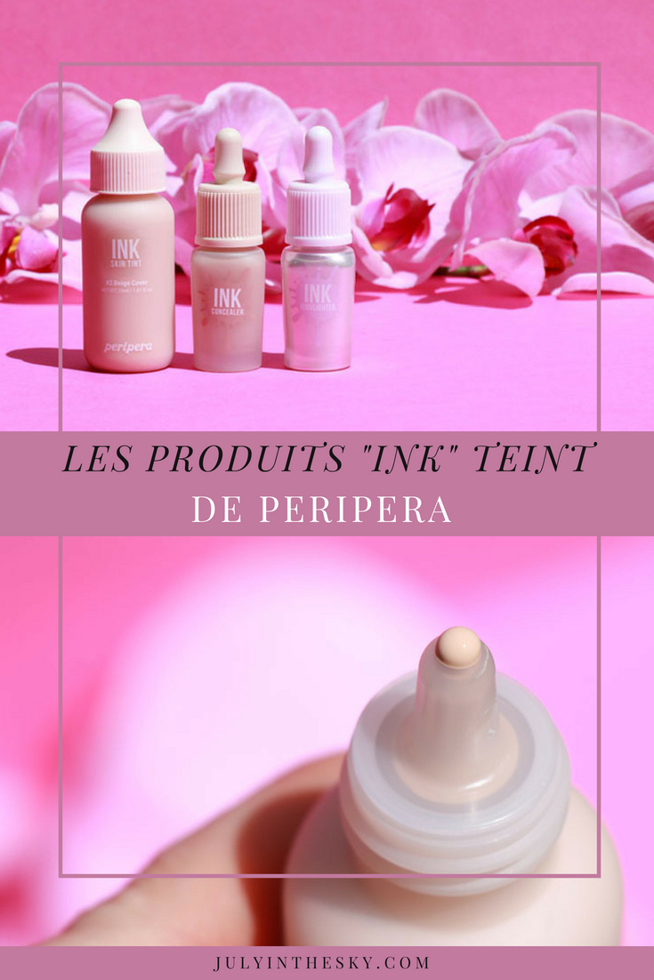 blog beauté kbeauty test avis peripera ink concealer highlighter skin tint