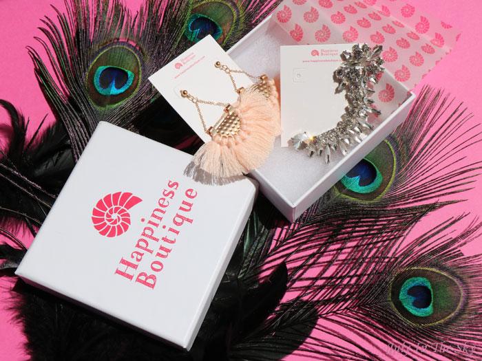 blog beauté bijoux Happiness Boutique avis test boucles d'oreilles