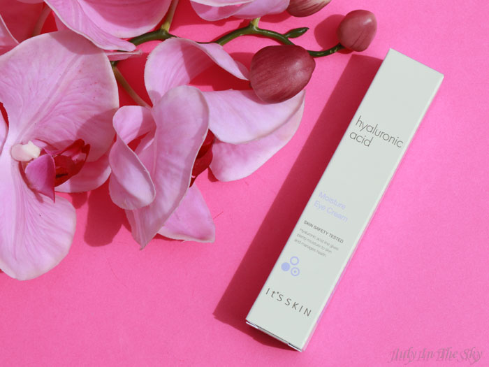 blog beauté kbeauty Hyaluronic Acid Moisture Eye Cream It's Skin avis