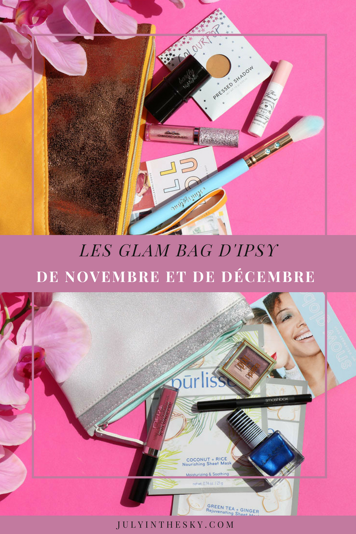 blog beauté avis Ipsy Glam Bag novembre décembre Snow Globe All You
