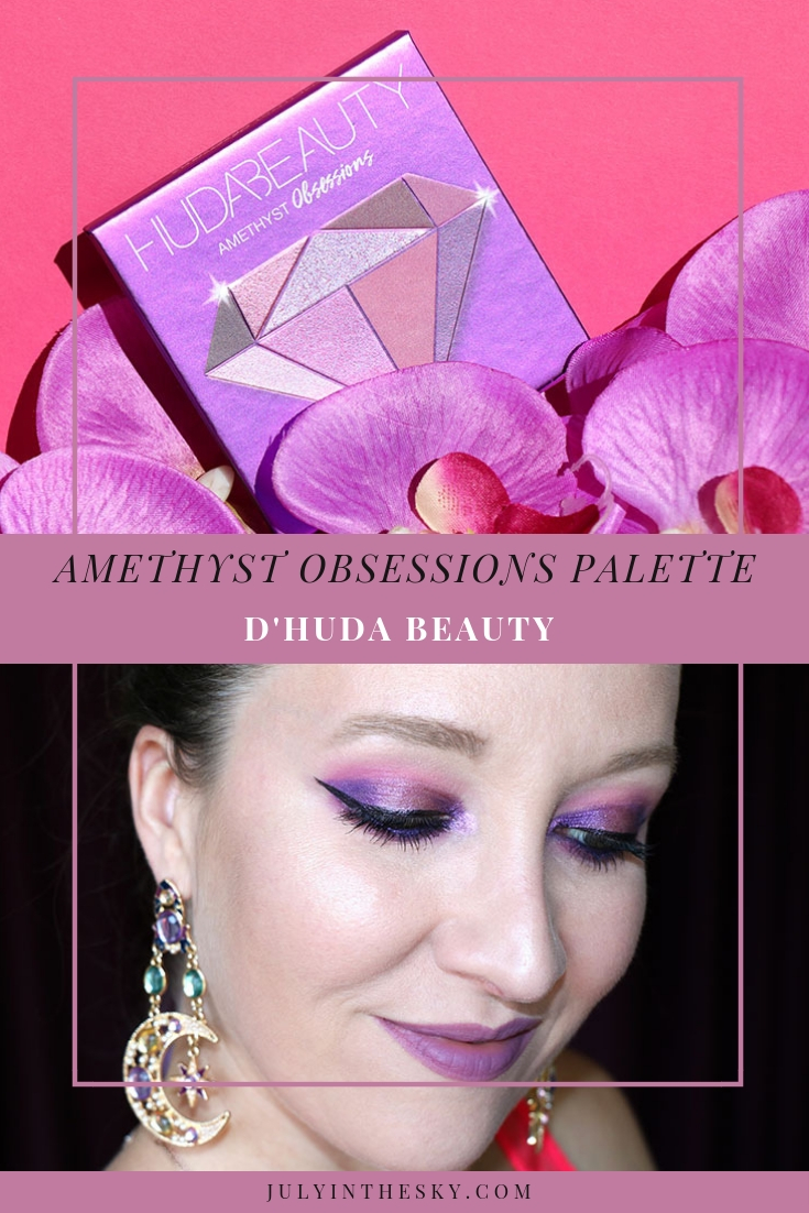 blog beauté Huda Beauty Amethyst Obsessions Palette make-up