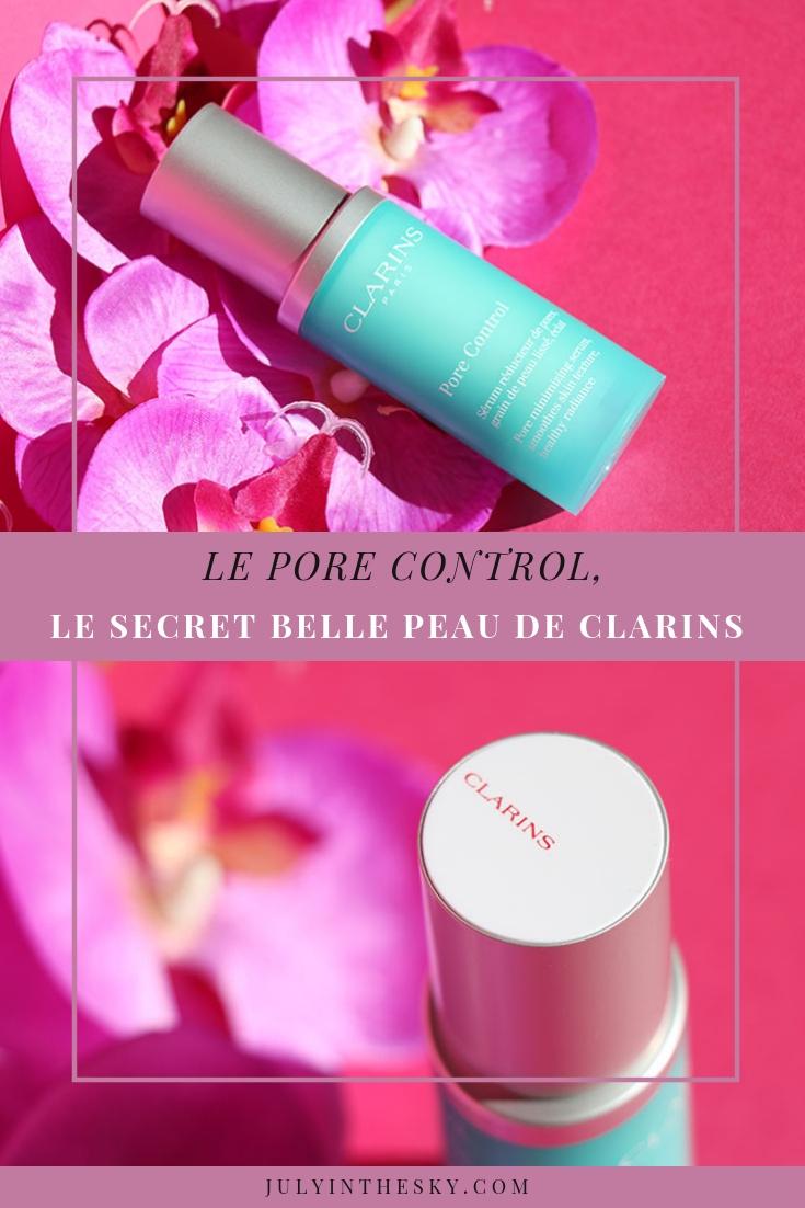 blog beauté Clarins Pore Control avis