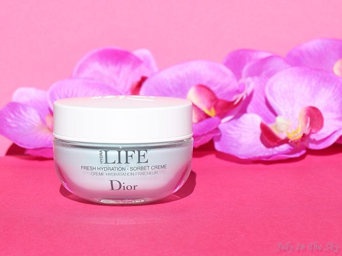 blog beauté Dior Hydra Life crème sorbet fraîcheur