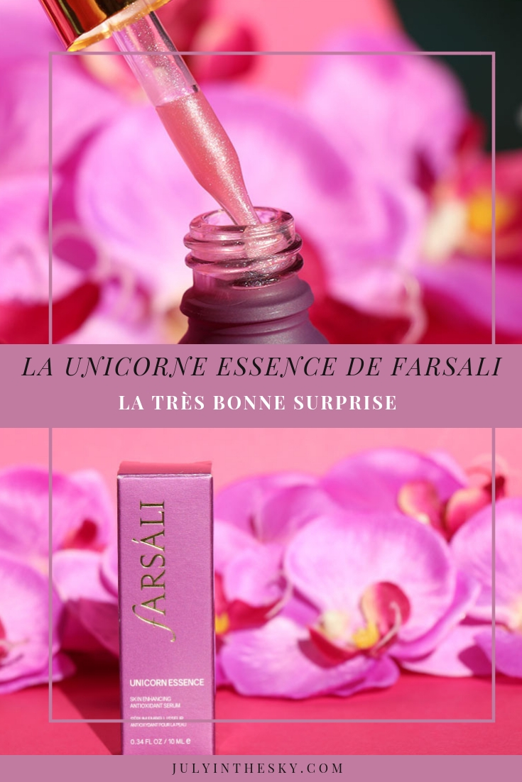 blog beauté Unicorn Essence Farsali