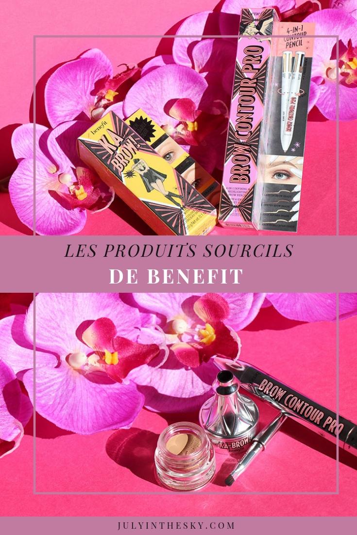 blog beauté Benefit Ka Brow Brow Contour Pro swatch blonde