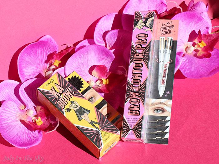 blog beauté Benefit Ka-Brow! Brow Contour Pro swatch blonde