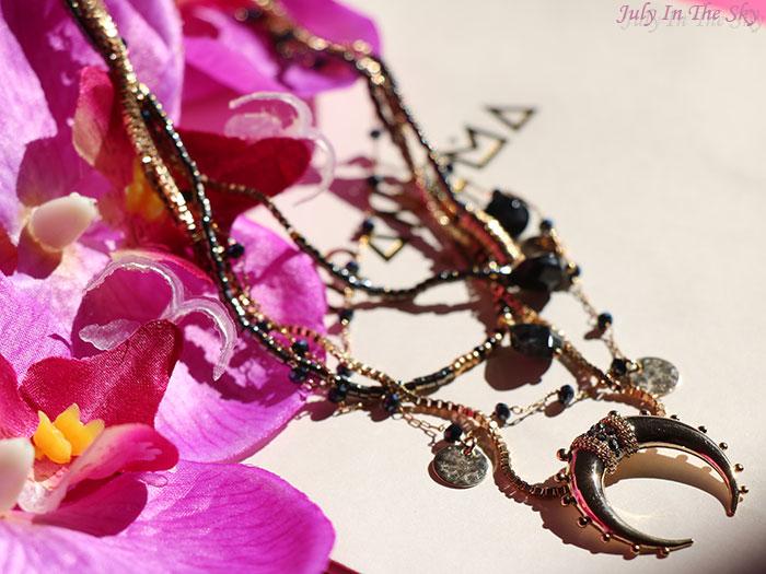 blog beauté bijou collier Malene Gold Himanema