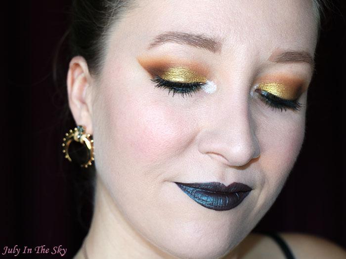 blog beauté LASplash Lip Lustre Dia De Los Muertos Catrina