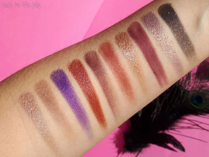 blog beauté Morphe Jaclyn Hill The Vault Bling Boss avis swatch