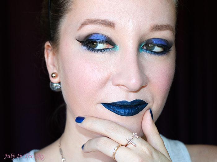 blog beauté lip lustre lasplash dia de los muertos sangre azul