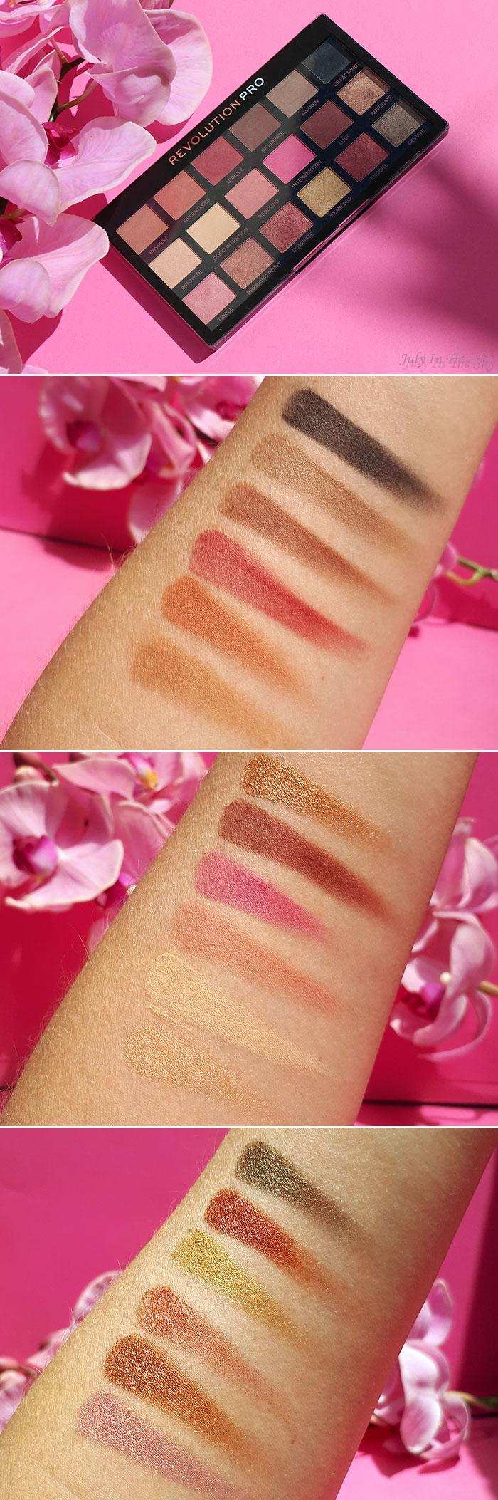 blog beauté Makeup Revolution Pro Regeneration Revelation