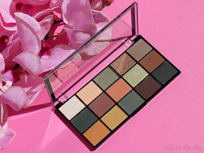 blog beauté Makeup Revolution avis test Re-Loaded palette Iconic Division