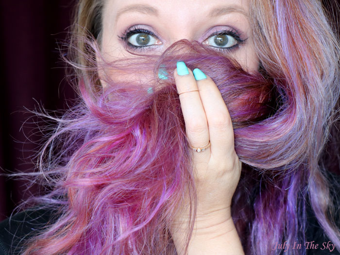 blog beauté colorista L'Oréal washout purplehair