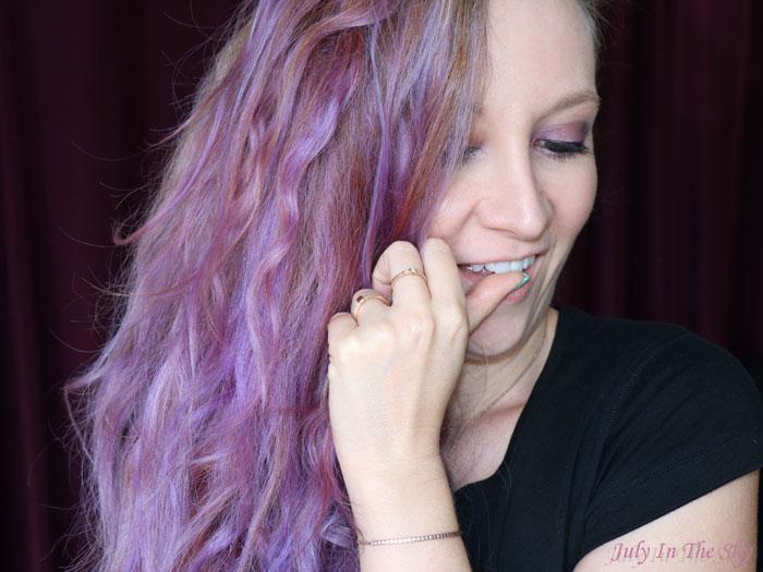 blog beauté colorista L'Oréal washout purplehair