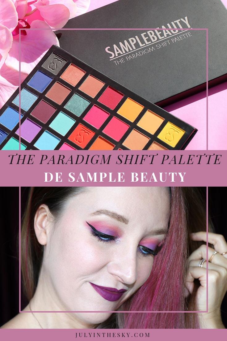 blog beauté The Paradigm Shift Palette Sample Beauty