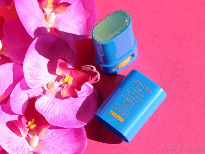 blog beauté Shiseido stick protecteur uv transparent