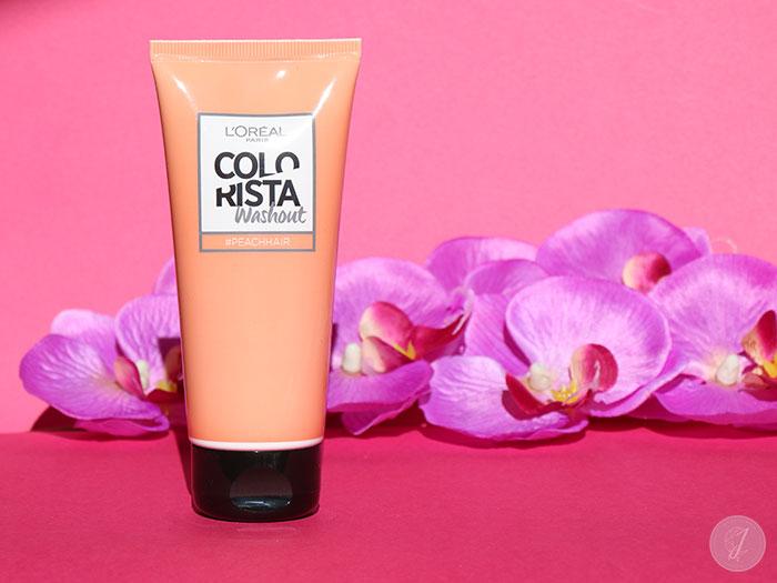 blog beauté Colorista L'Oréal PeachHair