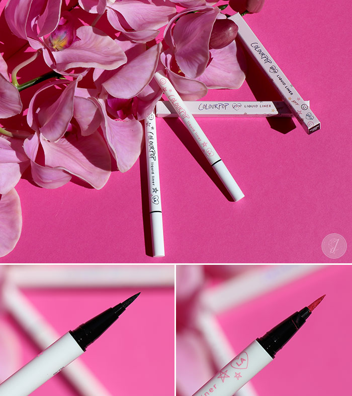 blog beauté ColourPop Liquid Liner swatch