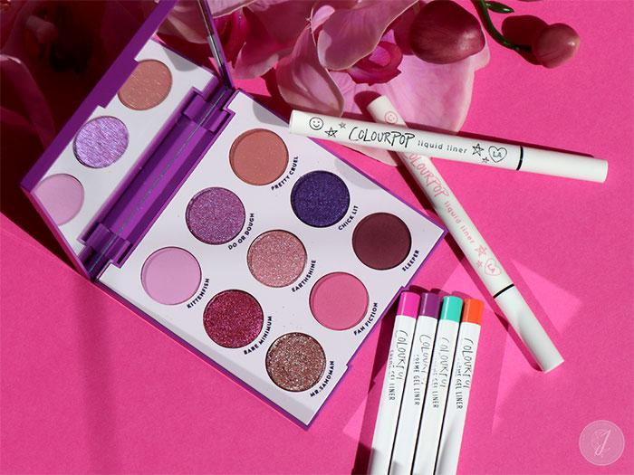 blog beauté ColourPop palette It's My Pleasure Liquid Liner Creme Gel Liner