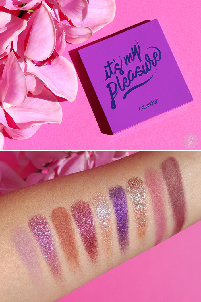 blog beauté ColourPop palette It's My Pleasure