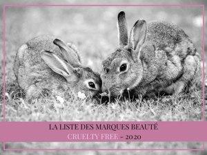 La liste des marques beauté cruelty free en 2020