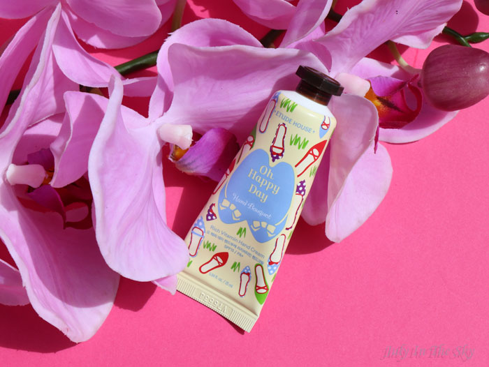 blog beauté crème main corée oh happy day etude house