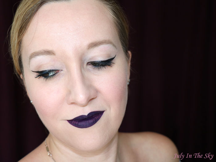 blog beauté la girl matte pigment gloss black currant