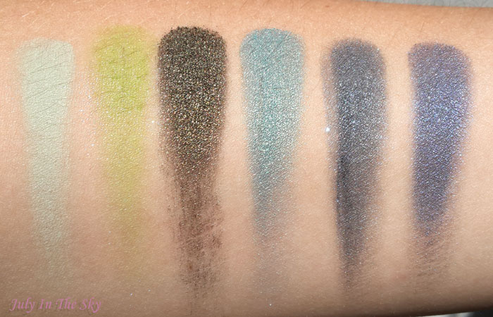 blog beautémakeup geek swatch shore thing fuji vernom mermaid ocean breeze nautica