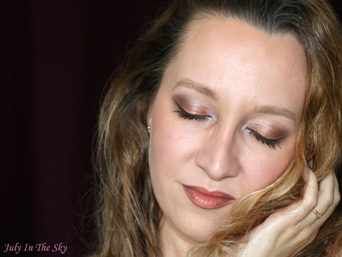 blog beauté monday shadow challenge natural golden brown