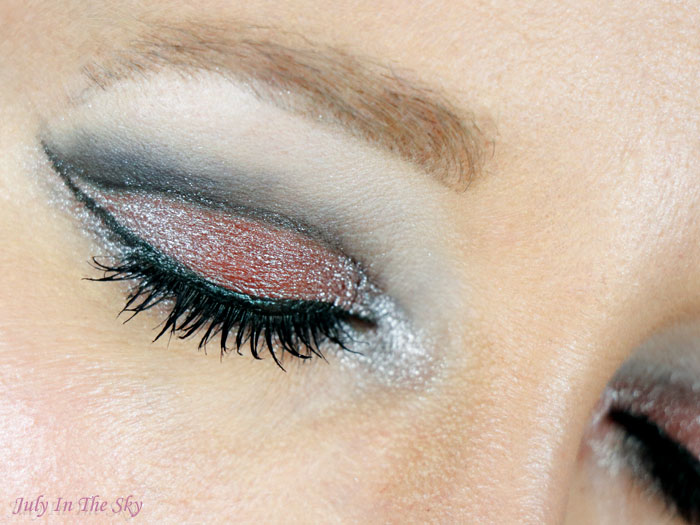blog beauté monday shadow challenge silver princess