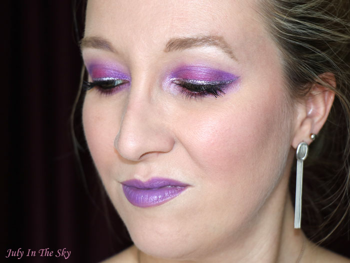 blog beauté monday shadow challenge twitch purple urban decay vice lipstick