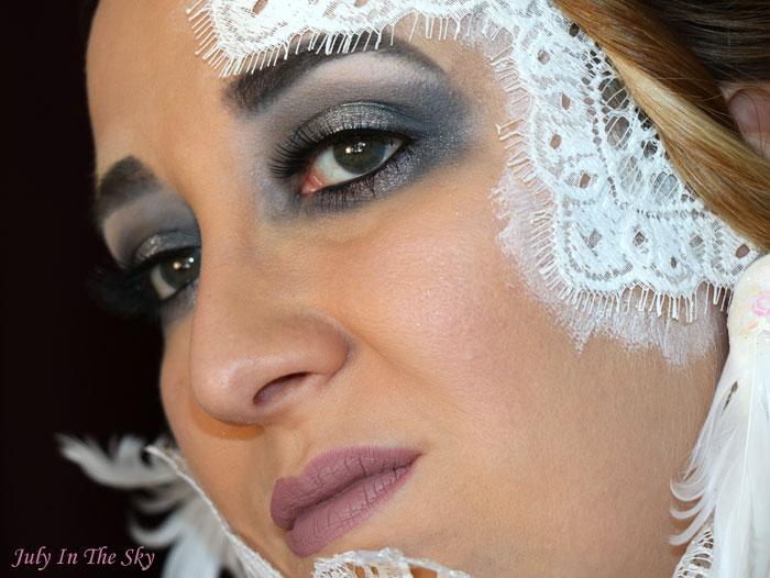 blog beauté monday shadow challenge white arlequin