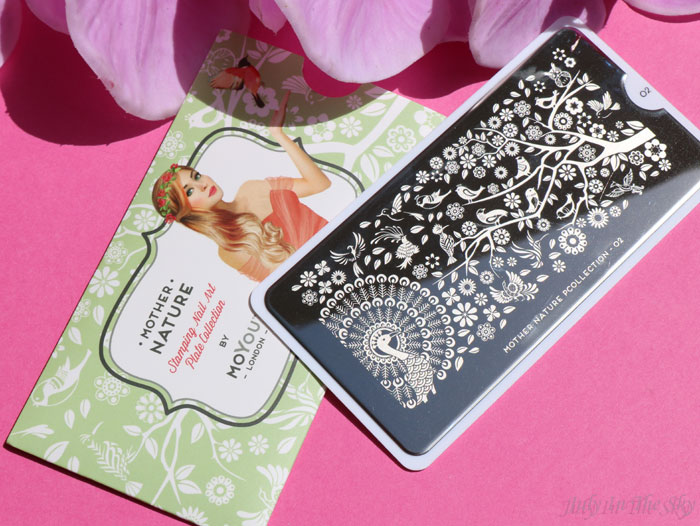 blog beauté nail art moyou london stamping plaque the mother nature