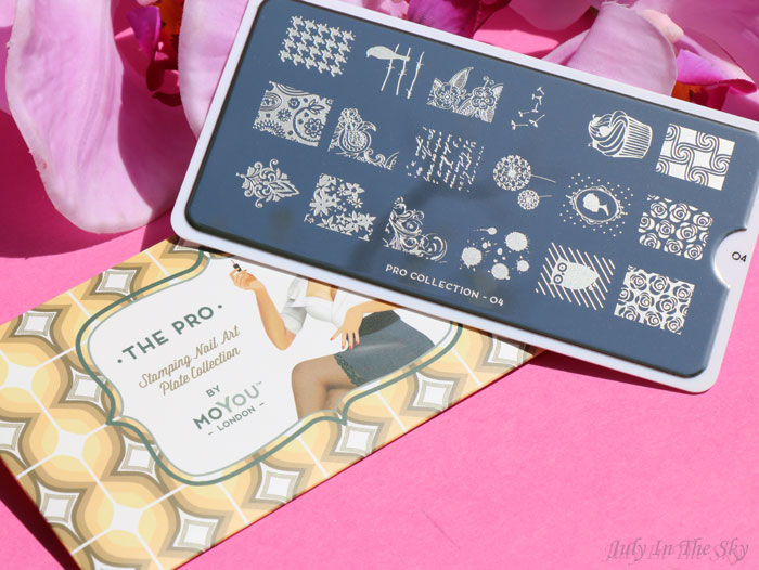 blog beauté nail art moyou london stamping plaque the pro