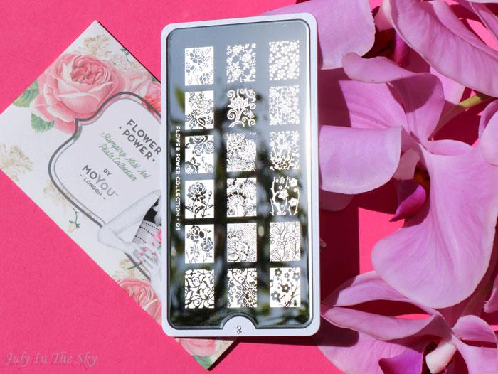 blog beauté haul nail art boutique plaque moyou london 05