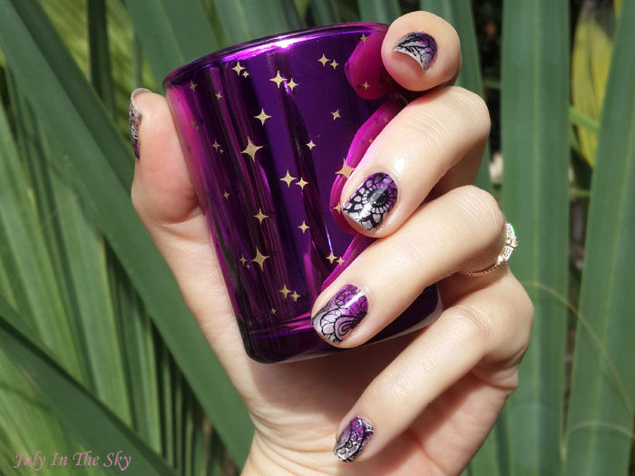 blog beauté nail art manucure latex cuticule guard moyou london top coat poshe plaque stamping born pretty store