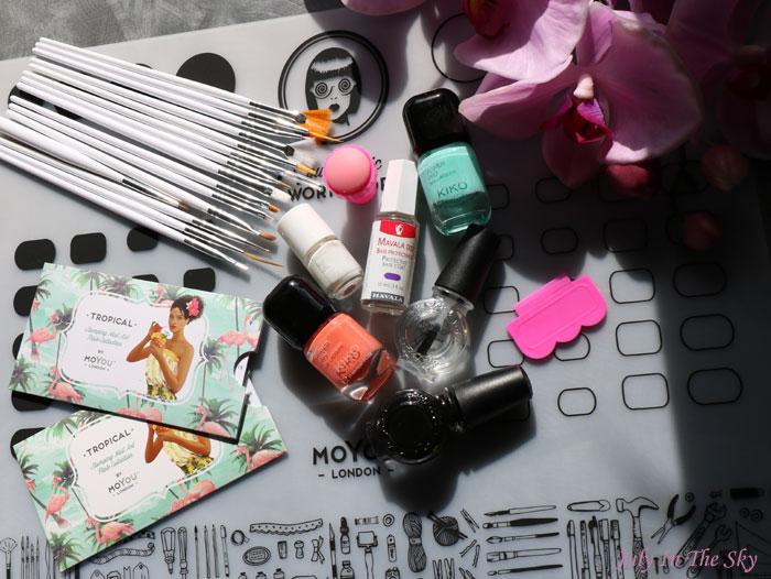 Nail Art : le stamping inversé